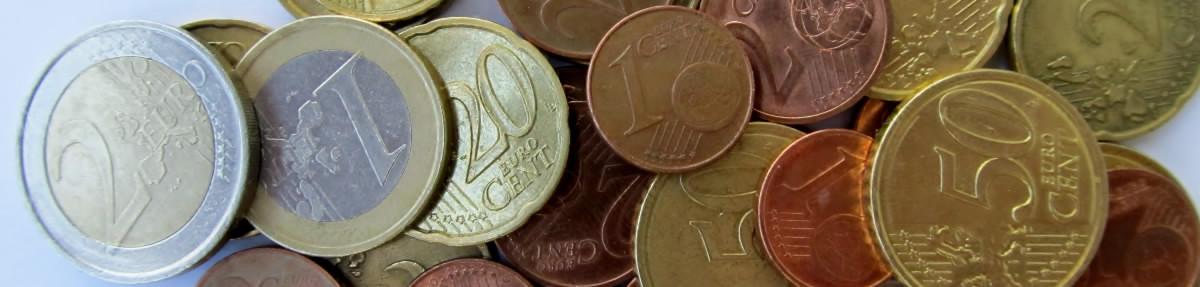 Euro mince - centy