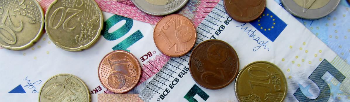 Euro bankovky a euro centy